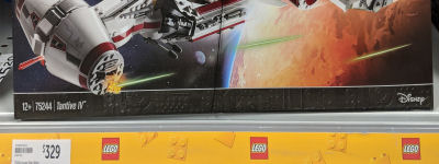LEGO Tantive IV Arrives At Retail