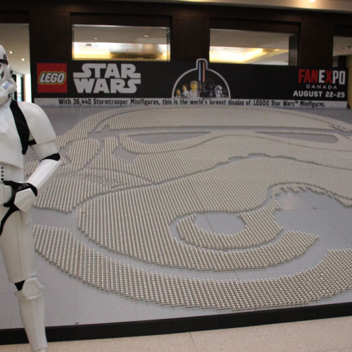 World's largest collection of LEGO Star Wars minifigs in Toronto