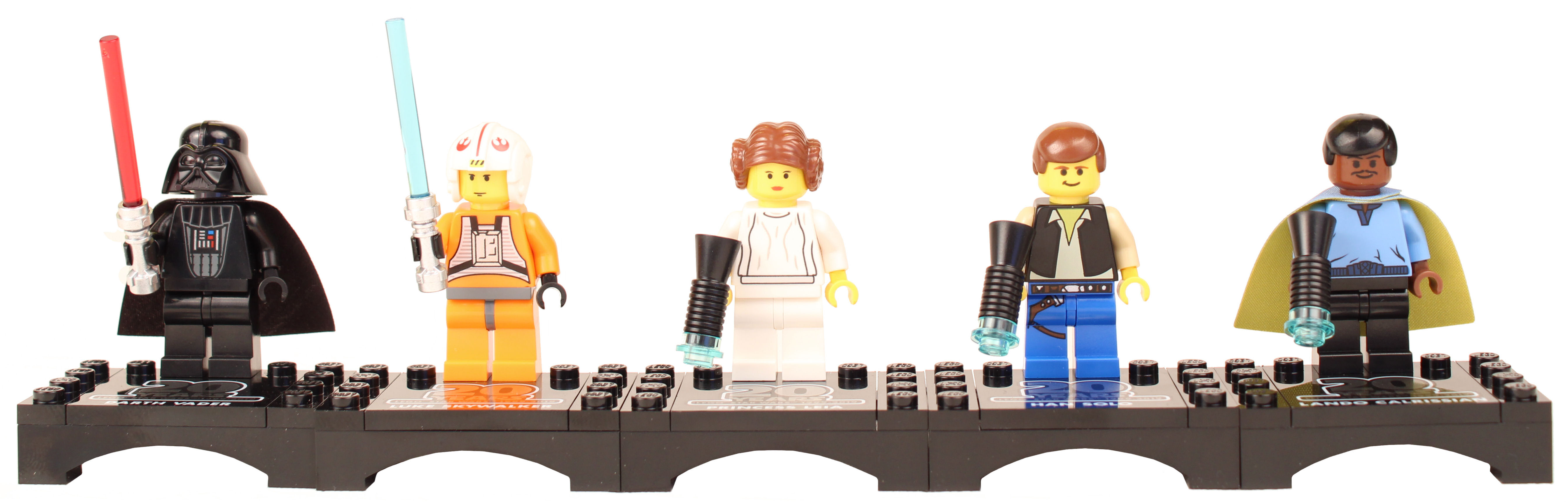 Old Lando Calrissian Star Wars Custom Minifigure
