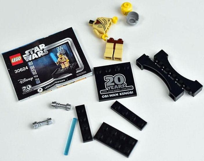 LEGO Star Wars Obi-Wan Kenobi Minifigure Polybag Set 30624