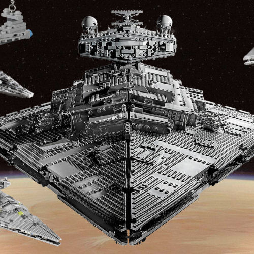 75252 UCS Imperial Star Destroyer - LEGO Star Destroyer collage