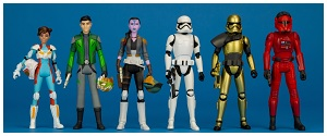 Star Wars Resistance 3.75-inch Wave 1 Collection