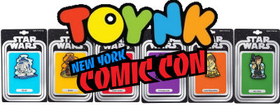 Toynk New York Comic Con Exclusive Star Wars Pins