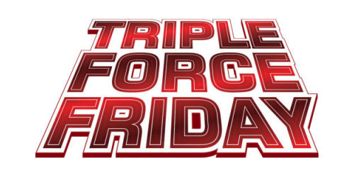 Triple Force Friday logo