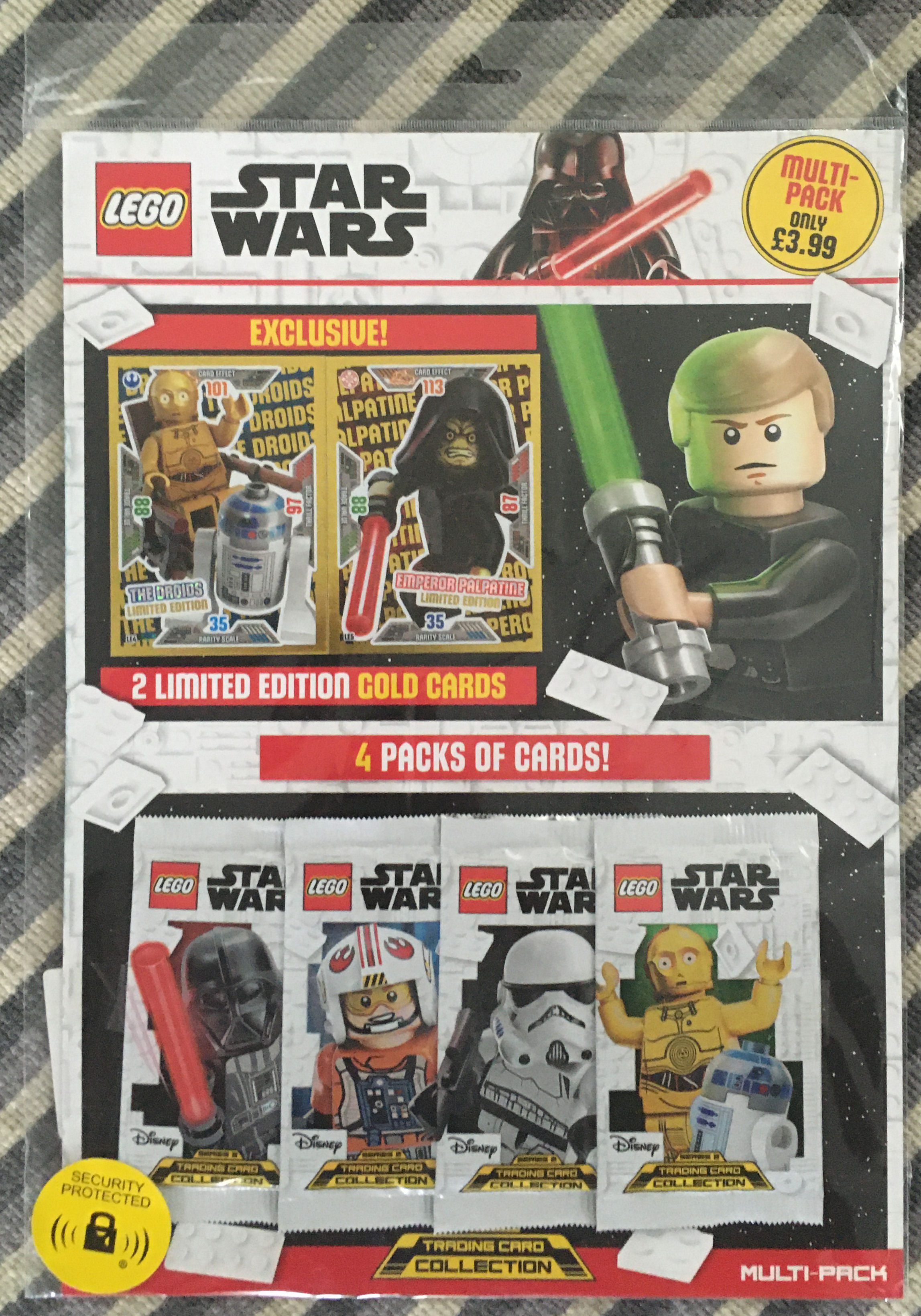 Lego Star Wars Trading Card Collection Série 2 Nº 86 méchant chef snoke