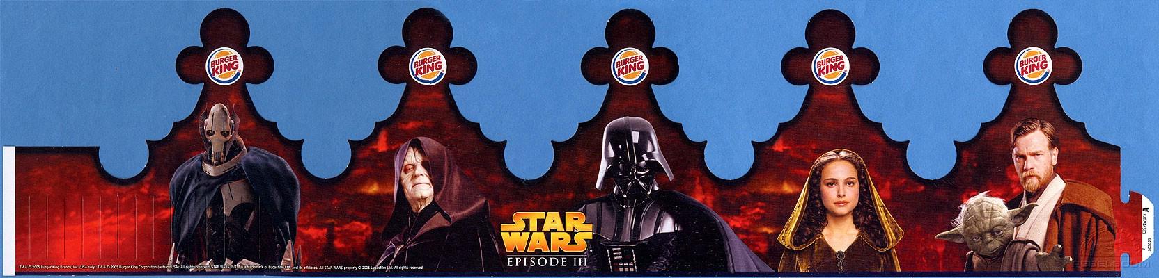 Burger King Star Wars Crown