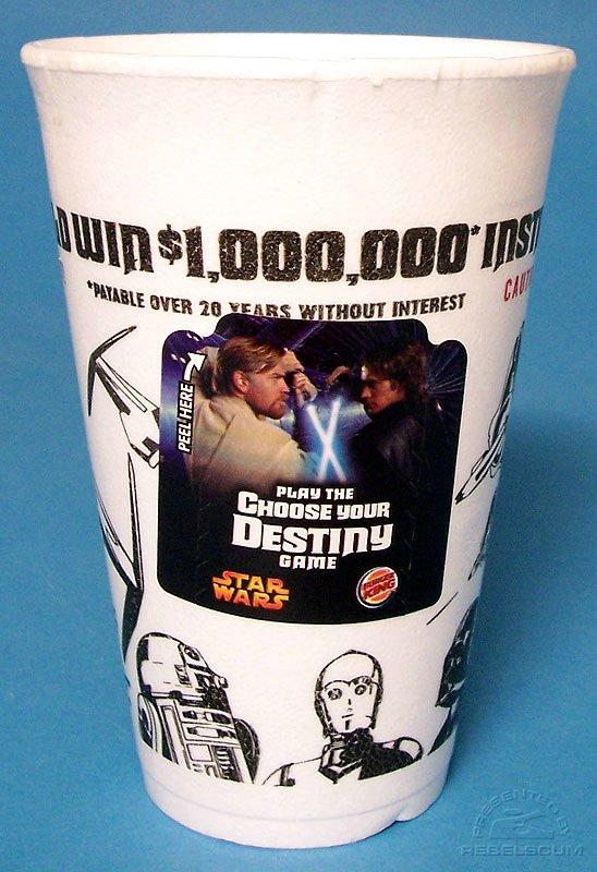 Burger King Star Wars Coffee Mug