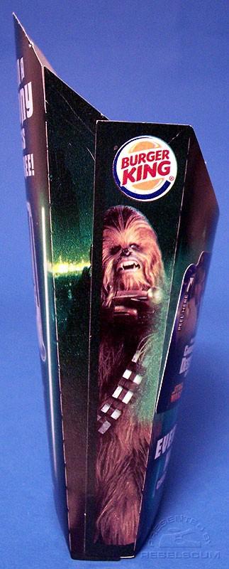 Burger King Star Wars French Fries Large Box