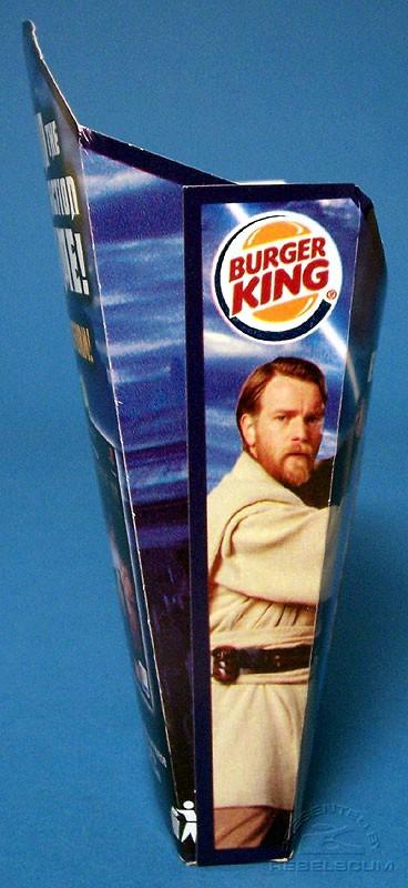 Burger King Star Wars French Fries Medium Box