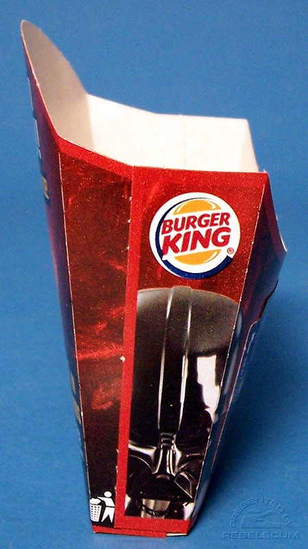 Burger King Star Wars French Fries Small Box