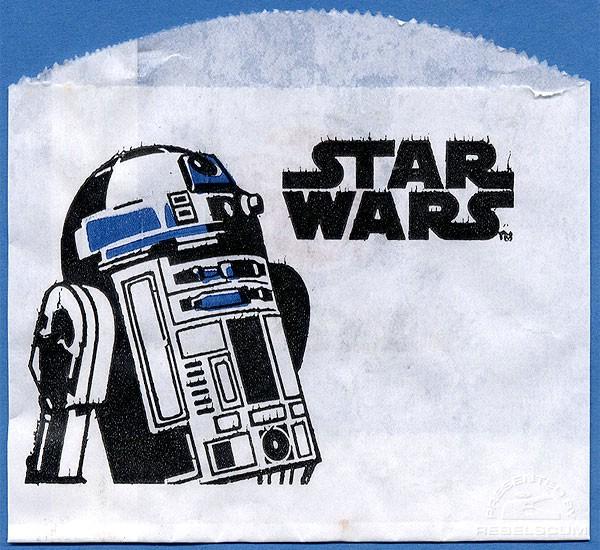 Burger King Star Wars Hash Browns Bag