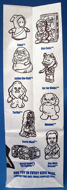Burger King Star Wars Bag