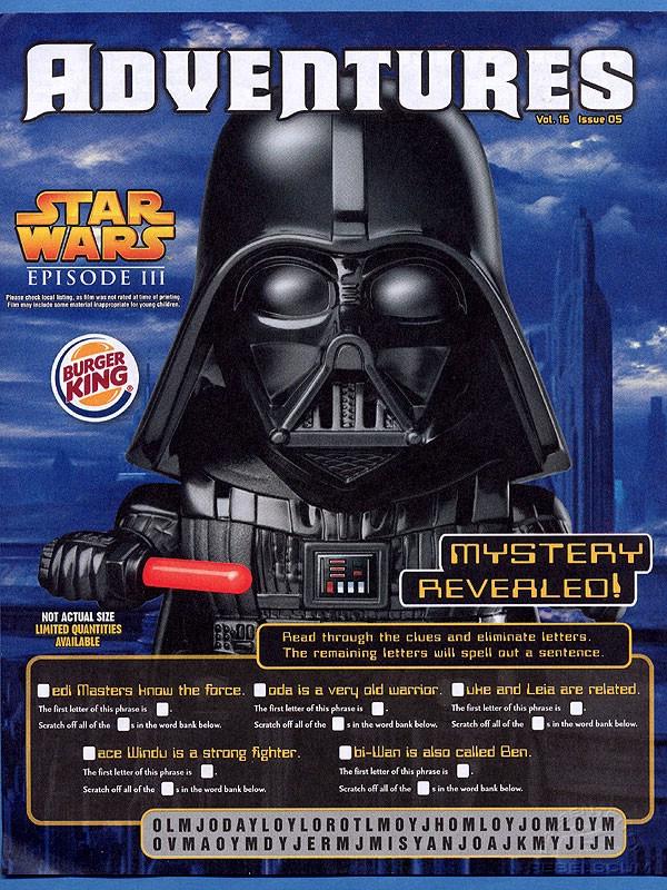 Burger King Star Wars Adventures