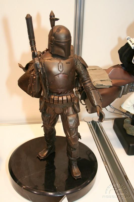 Boba Fett Bronze Statue IMG_9731