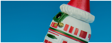 R2-H15 Disney Parks Holiday Droid Factory Figure