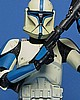 Star Wars Clone Trooper Lieutenant Mini Bust