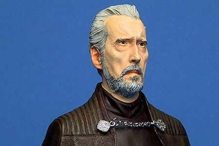 Star Wars Count Dooku Mini Bust