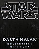 Star Wars Darth Malak Mini Bust