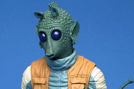 Star Wars Greedo Mini Bust