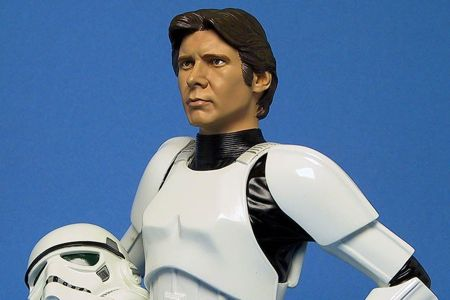 Star Wars Han Solo Stormtrooper Mini Bust