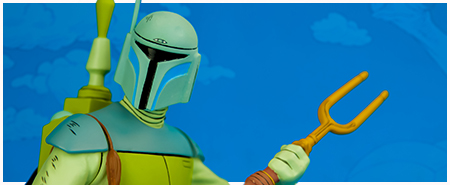 Boba Fett (Star Wars Holiday Special) Animated Maquette from Gentle Giant LTD