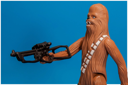 Chewbacca Jumbo Kenner Figure from Gentle Giant