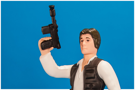 Han Solo (Small Head) Jumbo Kenner Figure from Gentle Giant
