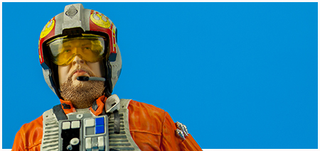 Jek Porkins 2014 San Diego Comic-Con Exclusive Collectible Mini Bust from Gentle Giant LTD.