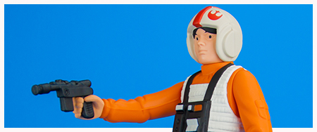 Luke Skywalker X-Wing Pilot Jumbo Kenner action figure from Gentle Giant Ltd.