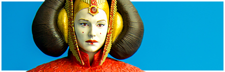 Queen Amidala Red Senate Gown Mini Bust PGM 2014 Gift from Gentle Giant