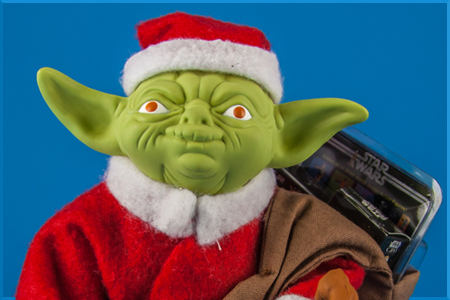 Yoda (Holiday Edition) Jumbo Kenner Figure from Gentle Giant