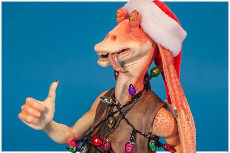 Jar Jar Binks 2012 Holiday Gift Mini Bust