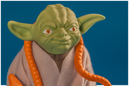 Yoda (Orange Snake) Jumbo Kenner Figure