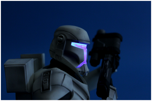 Republic Commando With Light-Up Visor Mini Bust (2012 Premium Guild Members' Gift)