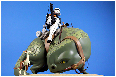 Sandtrooper On Dewback Limited Edition Maquette
