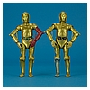 29 C-3PO (Resistance Base) - The Black Series 6-inch action figure collection from Hasbro