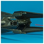 Kylo Ren's TIE Silencer with Kylo Ren (TIE Pilot)- The Last Jedi Star Wars Universe action figure collection from Hasbro