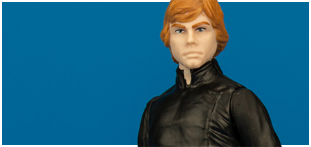 Luke Skywalker (ROTJ) Force Link action figure collection Hasbro