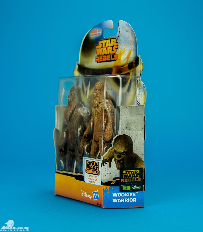 Star Wars Mission Series Wullffwarro and Wookiee Warrior Action Figures