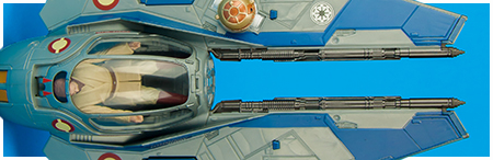 Obi-Wan's Jedi Starfighter - 2014 Star Wars: Rebels Class II vehicle from Hasbro