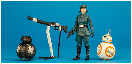 Rose (First Order Disguise), BB-8, & BB-9E 3.75-inch three pack
