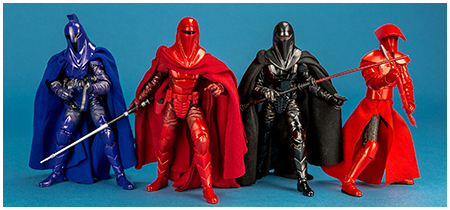 The Black Series 6-inch Royal Guard four pack from Hasbro