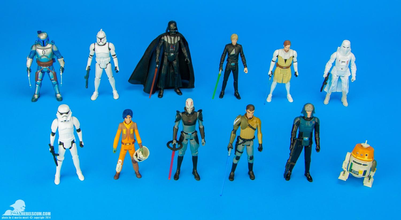 Fu Reviews: Hasbro Star Wars Rebels Figures (Agent Kallus, Inquisitor, Zeb,