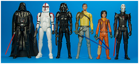 Target Exclusive Star Wars: Rebels Heroes and Villains six pack from Hasbro