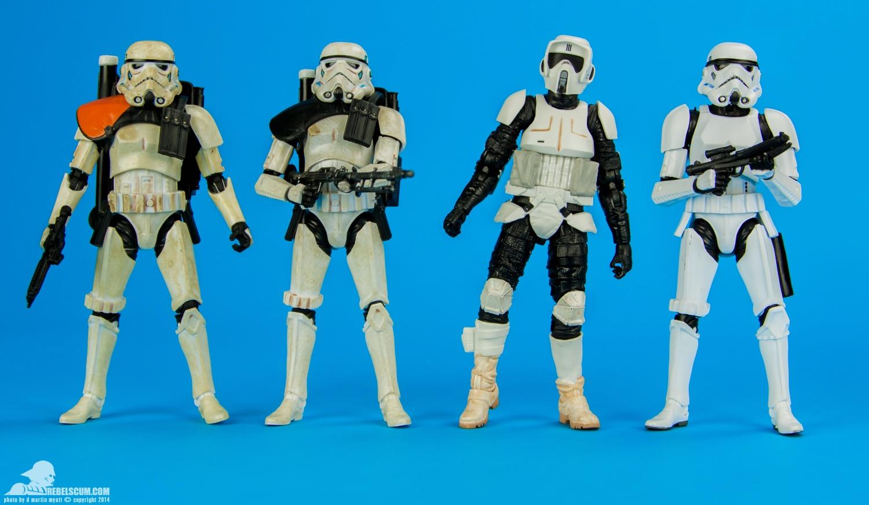 "BIKER SCOUT Star Wars Black Series archive 6/"""