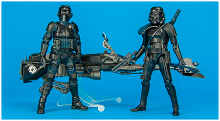 Target Exclusive The Black Series 6-inch Imperial Shadow Squadron Set