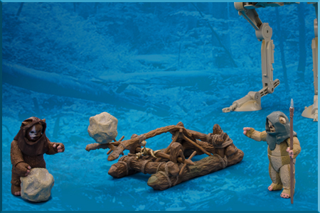 Ewok Assault Catapult The Vintage Collection by Hasbro