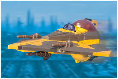 2012 Anakin Skywalker's Jedi Starfighter from Hasbro