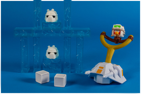 Jenga Hoth Battle Game - Angry Birds Star Wars