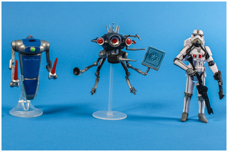 Disney Parks 2013 Star Tours Search For The Rebel Spy Action Figure Three Pack